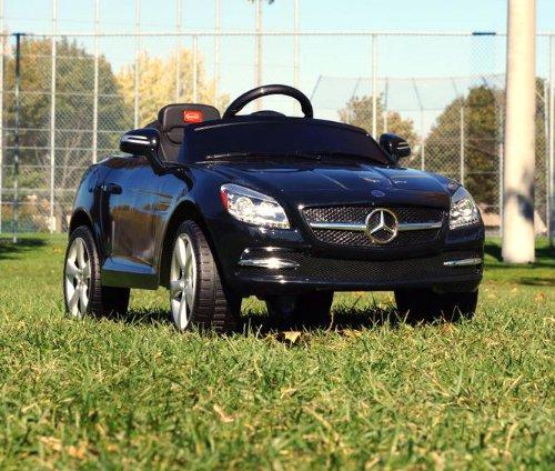 Mercedes power wheels black mercedes benz slk 81200 baby for Mercedes benz power wheels car