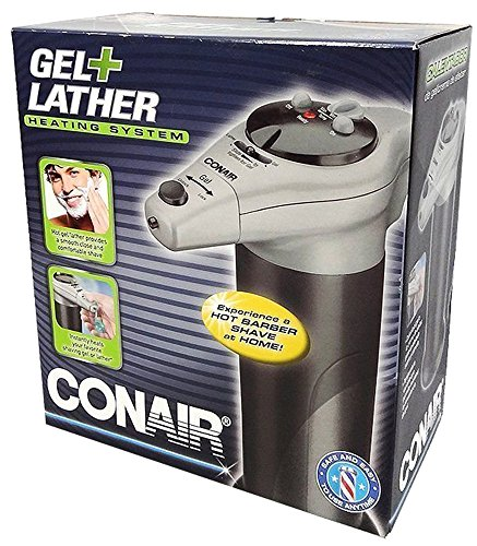 Conair Gel and Lather Heating System - Black/Gray (Shaving Cream Heating Machine compare prices)