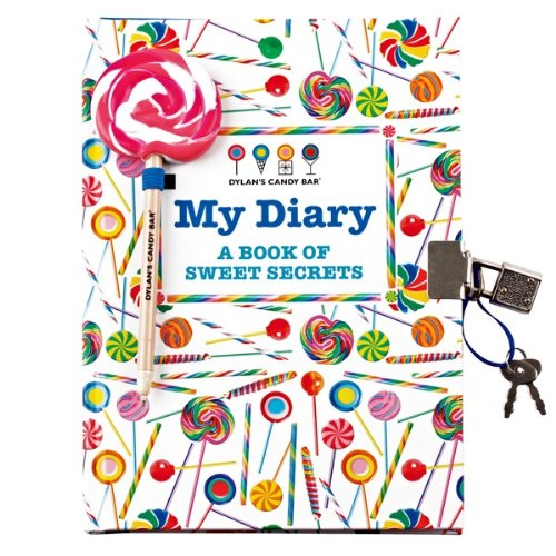 Dylan's Candy Bar Diary with Lock - Lollipops