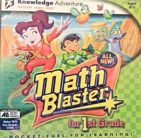 Math Blaster for 1st Grade