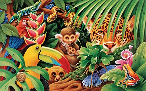 Jungle Animals a 300-Piece Jigsaw Puzzle by Sunsout Inc.
