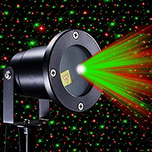 Xtf2015 Red And Green Sparkling Star Stage Light IP65 Waterproof