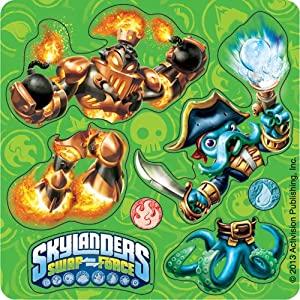 Make Your Own Skylanders Stickers - Birthday & Theme Party Supplies - 50 per pack from SmileMakers Inc