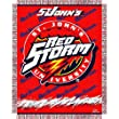 "Saint John's Red Storm Triple Woven Jacquard NCAA Throw (017 Focus) (48""x60"")"