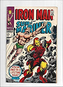 Iron Man Sub-Mariner #1/Silver Age Marvel Comic Book/Pre-Dates Iron Man #1/FN-