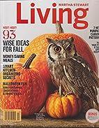 Martha Stewart Living Magazine October 2014…