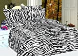 61JpPgSfcjL. SL160  ZEBRA PRINT Microfiber Sheet Set