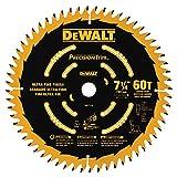 DEWALT DW7116PT DEWALT DW7116PT 60T Precision Trim Miter Saw Blade, 7-1/4