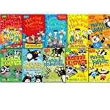 Ian Whybrow Awesome Animals Collection 10 Books Set, (Merry Meerkat Madness, Meerkat Madness: Flying High Panda Panic Panda Panic:Running Wild Penguin Pandemonium Penguin Pandemonium:The Rescue Raccoon Rampage Racoon Rampage: The Raid More Meekat Madness