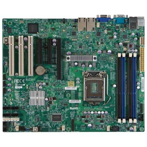 X9sca C204pch Lga1155 Max-32gb Ddr3 Atx 16pcie 2.0 3pci Lan