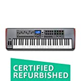 Novation Impulse 61 USB Midi Controller Keyboard, 61 Keys (Certified Refurbished) (Color: Gray, Tamaño: medium)
