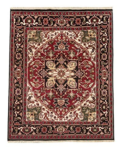 "Hand-Knotted Royal Heriz Wool Rug, Red, 8' 3"" x 10' 2"""