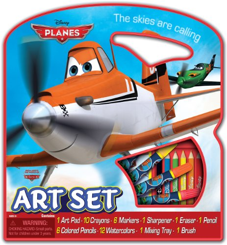 Bendon Disney Planes Character Art Tote Activity Set