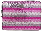 Nine West Instaglam Laptop Sleeve,Purple Multi/Pewter,One Size
