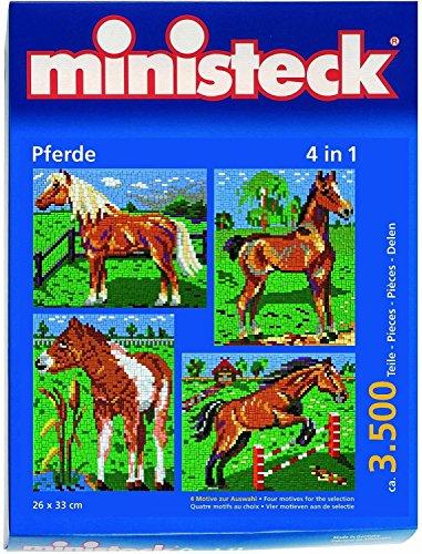 ministeck-31301-cavallo-con-sottofondo-puzzle-4-in-1-3500-pezzi