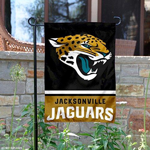 Jacksonville Jaguars Double Sided Garden Flag