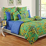 Swayam Colors of Life Printed Cotton 4 Piece Bedding Set - Multicolor (TSS04-2409)