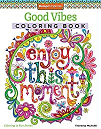 Good Vibes Coloring Book (Coloring Is Fun)