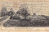 North Port New York Eatons Neck Light House Street View Antique Postcard K66272