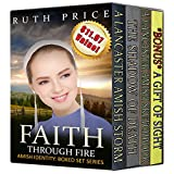 img - for Amish Faith Through Fire (Amish Identity Series 4-Book Boxed Set Bundle: Vol 1,2,3 and 4 (An Amish of Lancaster County Saga)) book / textbook / text book