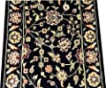 Dean Nobility Black Carpet Rug Hallway Stair Runner - Purchase by the Linear Foot