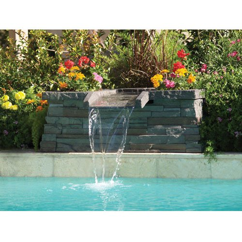 Graystone Scupper Swimming Pool Waterfall Feature (^o ...