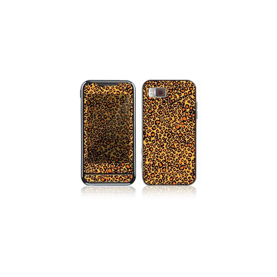 Samsung Eternity (SGH A867) Decal Skin   Orange Leopard