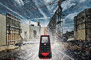Leica DISTO E7500i 660ft Laser Distance Measure w/Bluetooth & DISTO Sketch iPad iPhone App, Black/Red (Color: Red Black)