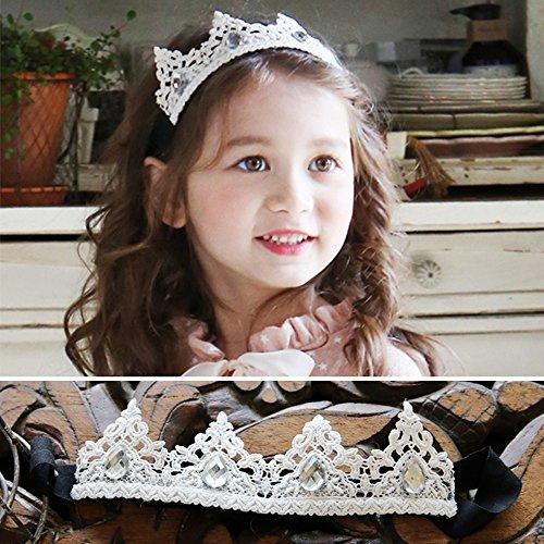 [Hairbands for Baby Girls, Mukin® Princess Hair Accessories for Newborn] (Sub Zero Costume Child)