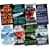 jack higgins 8 Books Collection Pack (Without Mercy, Pay the Devil, The Keys of Hell, East of Desolation, Midnight Runner, Storm Warning: The Epic World war II Adventure, Bad Company, Passage By Night)by jack higgins
