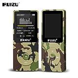Fibest 2017 100% original English version Ultrathin MP3 Player with 8GB storage and 1.8 Inch Screen can play 80h, Original RUIZU X02 - Green