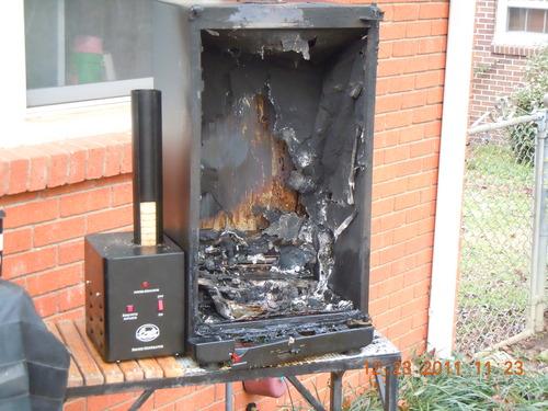 Smoking in the garage... [Archive] - The BBQ BRETHREN FORUMS.