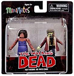 The Walking Dead Minimates Series 6 Minifigure 2-Pack <b>Party Michonne & Winter Zombie</b>