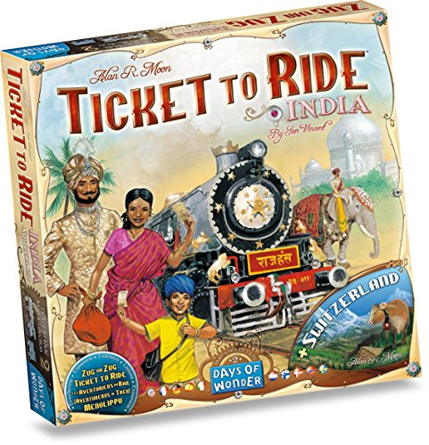 Ticket To Ride India: Map Collection - Volume 2 (Ticket Ride Trains compare prices)