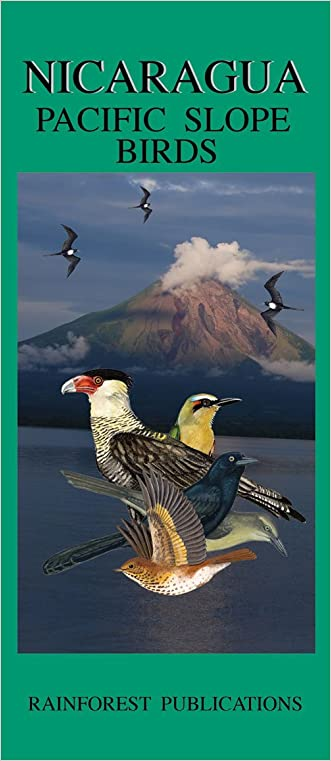 Nicaragua Pacific Slope Birds Guide (Laminated Foldout Pocket Field Guide) (English and Spanish Edition)