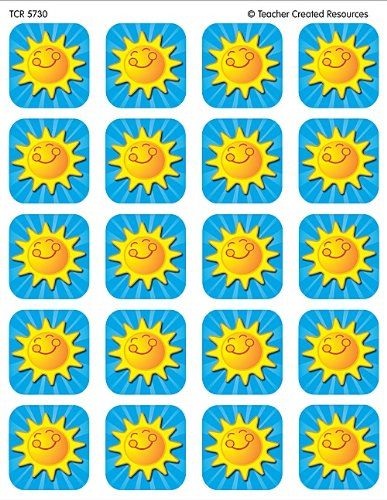 Teacher Created Resources Summer Sunshine Stickers, Multi Color (5730)