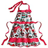 Disney Parks Mickey Mouse Ornament Christmas Holiday Apron NEW