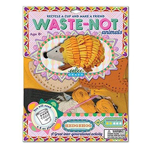 eeBoo Waste-Not Hedgehog Sewing Kit