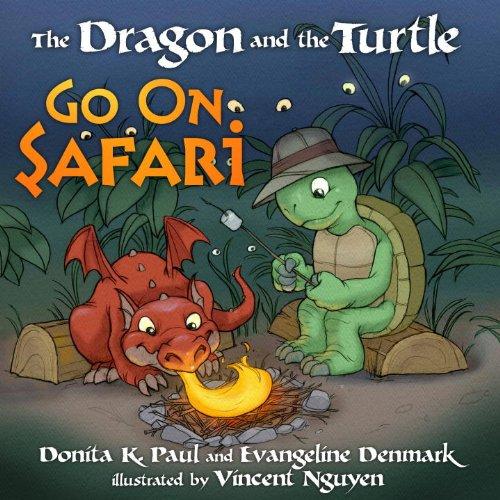 The Dragon and the Turtle Go on Safari, Paul, Donita K.; Denmark, Evangeline