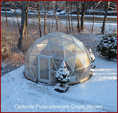 GREENHOUSE-GEODESIC-DOME-16-FT-With-Marine-Poly-Cover-for-Hydroponic-Gardening