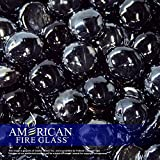 American Fireglass Fire Beads Fireplace Glass and Fire Pit Glass, 11-Pound, Twilight Luster