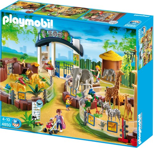 Playmobil Large Zoo With Entrance front-1052157