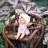 Miniature Fairy Garden Baby Sweet Pea Fairy