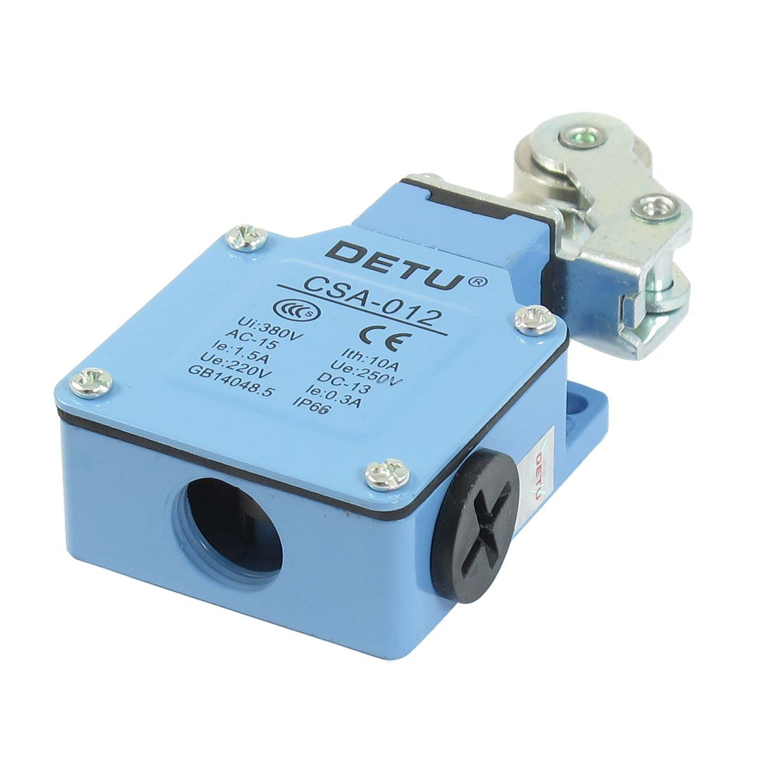 CSA-012 AC 250V 1.5A DC 220V 0.3A Momentary Roller Lever Actuator Limit Switch