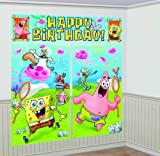 SpongeBob Scene Setter Decoration Set (Blue/Green) Party Accessory