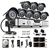 Zmodo 8CH HDMI 960H P2P DVR 600TVL CCTV Home Video...
