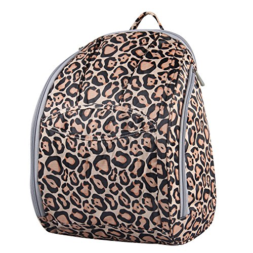 Hynes Eagle Adorable Print Diaper Backpack (Leopard)