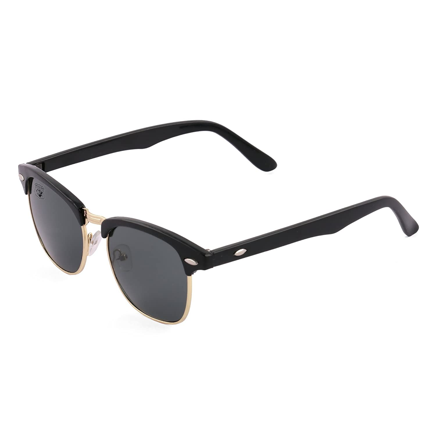 Royal Son Wayfarer Sunglasses (Black) (What1555)