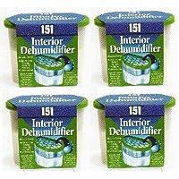 4 Interior dehumidifier, Absorbs damp crystals in box
