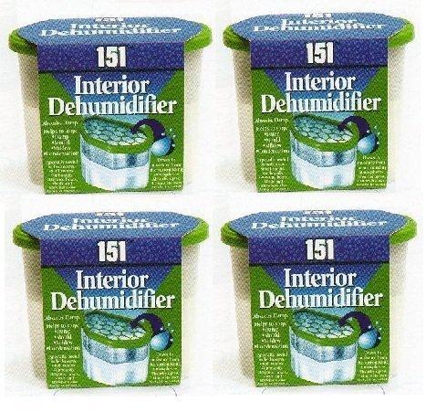 Housewares 4 Interior Dehumidifier Absorbs Damp Crystals In Box